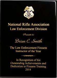 NRA Instructor of the Year 2014