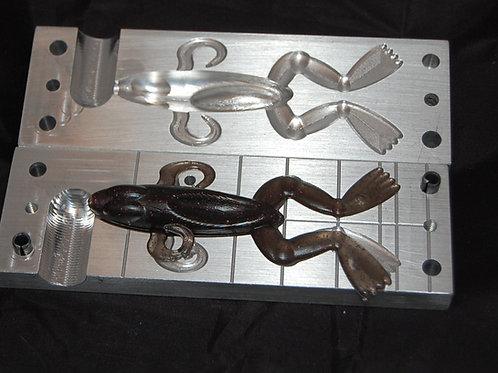 frog 4 inch  bait mold