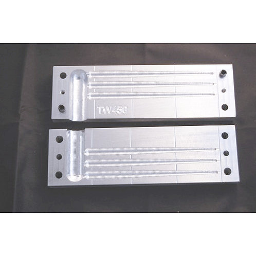 TW450 taper worm mold 4.5 inch  3 cavity