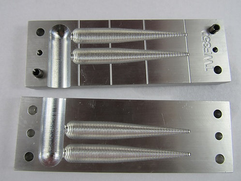 fat taper worm mold  TFW350