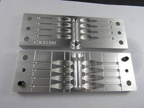 JGS200 minnow bait mold 8 cavity