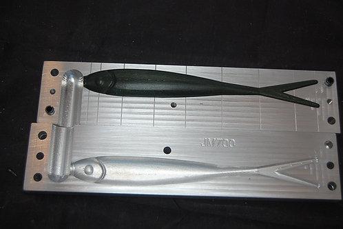 JM700 7 inch jerk bait soft plastic bait mold