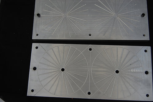 3.75 inch diameter skirt  injection mold