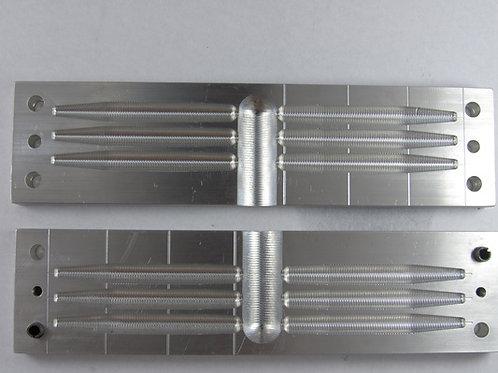 3 inch stick bait mold 6 cvavity