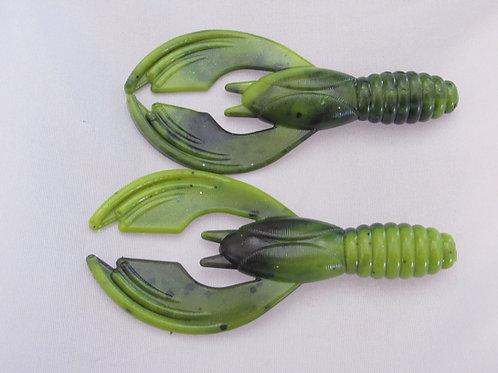 CDR350 twin cavity creature bait mold