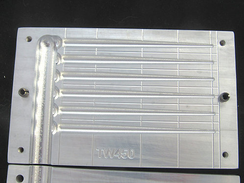 TW450 taper worm mold 4.5 inch  6 cavity