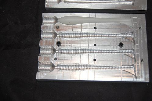 SEL437 swimbait  top shoot soft plastic bait mold