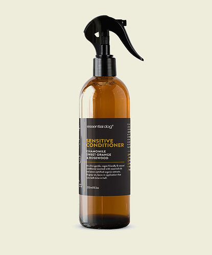 ESSENTIAL DOG CONDITIONER: CHAMOMILE, SWEET ORANGE & ROSEWOOD (SENSITIVE)