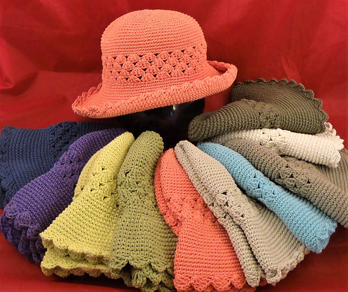 Thai Scalloped Edge Hat