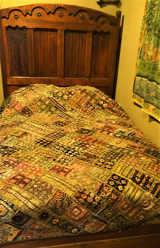 Surabhi: Banjara Vintage Bedspread or Wall Hanging