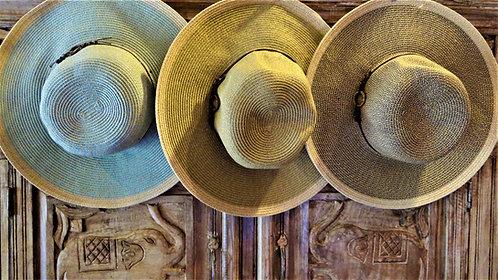 Sally Flat Brim Hat