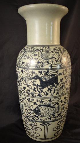 Air Land Sea Vase