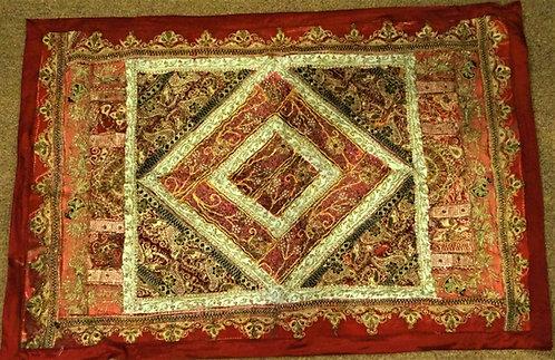 Revita: Zardozi Embroidered  Wall Hanging