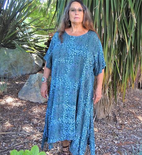 Oahu Batiked Dress: Lost River