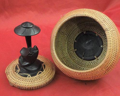 Lombok Coiled Frog Basket