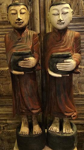 Monks in Saffron Robes