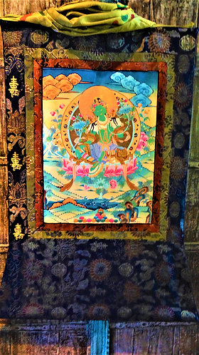 Green Tara: Healing Energy from Fear