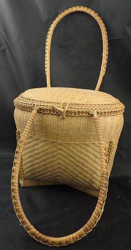 Vintage Lombok Basket/ Handbag