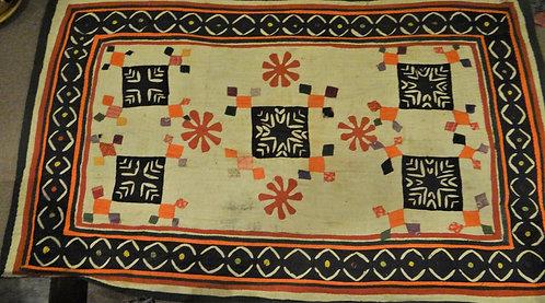 Kutch Antique Nomadic   Blanket in Katab, Applique