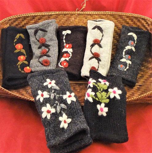 Flower Vine & Multi Flower Gloves