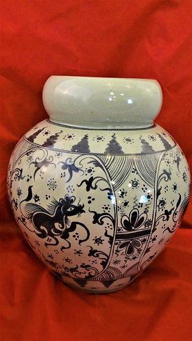 Squat Horse Vase