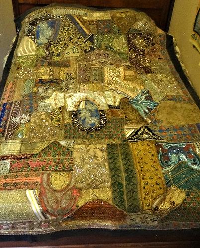 Tavleen: Large Zardozi Wedding Festival Quilt