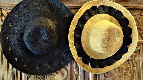 Flo's Cut Out Brim Hat
