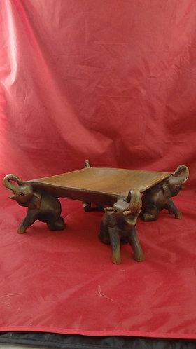 Square Elephant Tray