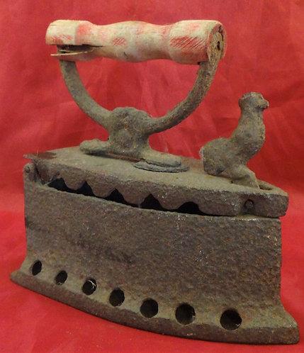 Antique Thai Coal Iron