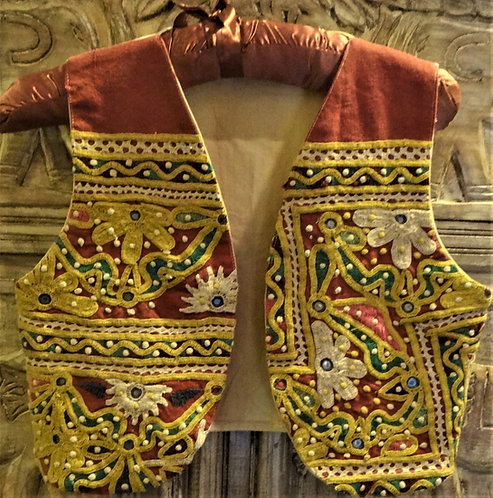Intricate Design Tribal Vest: Small