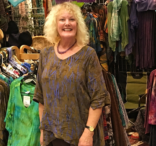 Layered Side fall Tunic: Lost River