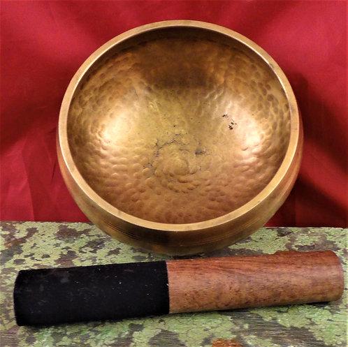 Tibetan Singing Bowl 5.75 Diameter