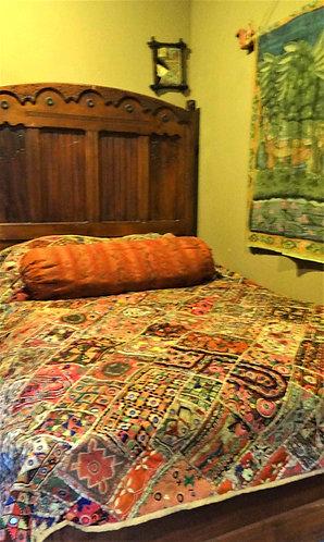 Arzoo: Banjara Vintage Wall Hanging or Bedspread