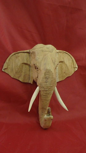 Wall Elephant in Teak