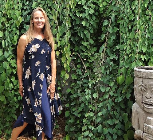 Layered Jersey Maxi Dress: Papillon