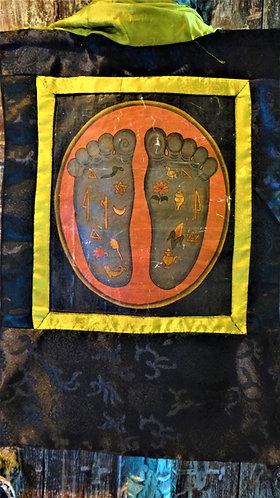 Buddha's Feet with Auspicious Symbols