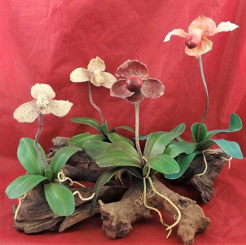 Faux Orchids
