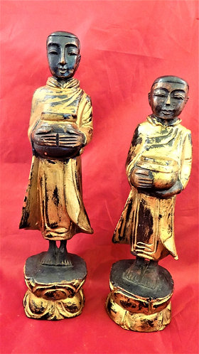 Standing Monks:Pair