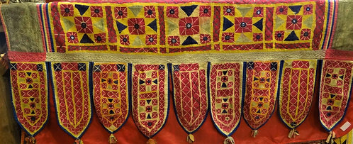 Antique Embroidered RabariToran