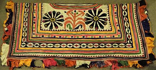 Rabari Camel Blanket in Katab , Applique