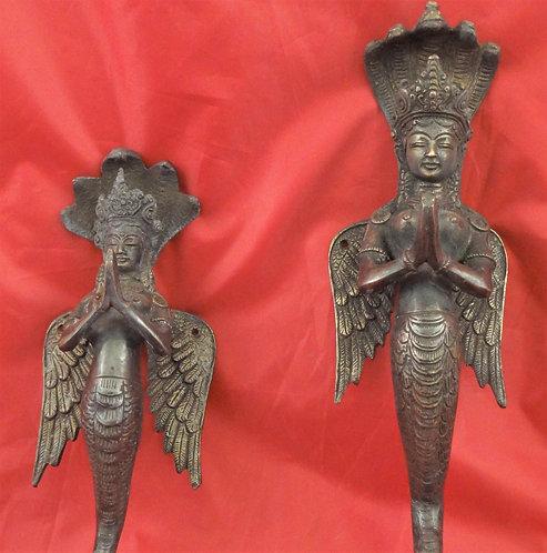 Naga Kana Door Handles