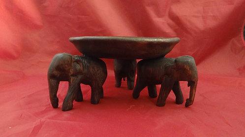 Round Elephant Tray