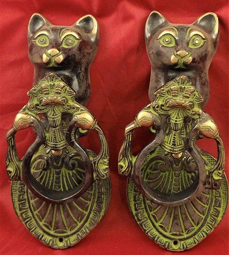 Cat Door Knockers
