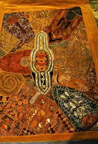 Arunima: Zardozi Wedding Festival Quilt