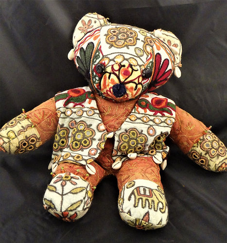 Teddy Bear Banjara Style: In Rust