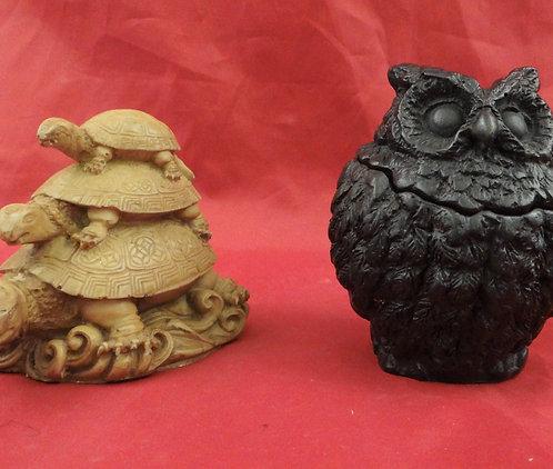 Turtle Stack/ Owl Box
