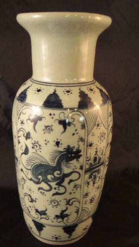 Lanna Horse Vase