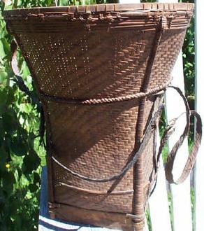 Antique Akha Backpack