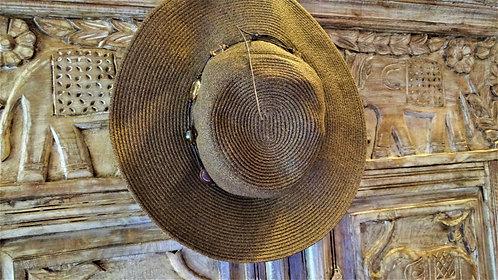Betsy Flat Brim Hat