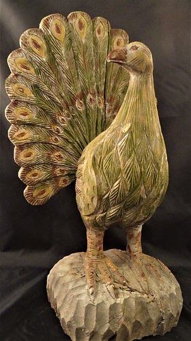 Rustic Peacok
